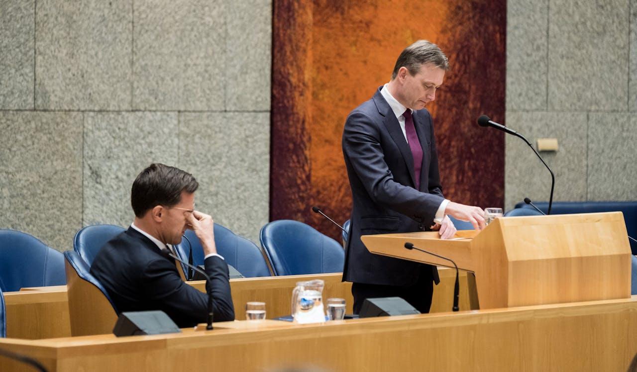 Halbe Zijlstra trad af nadat hij had gelogen over zijn ontmoeting met de Russische president Vladimir Poetin.