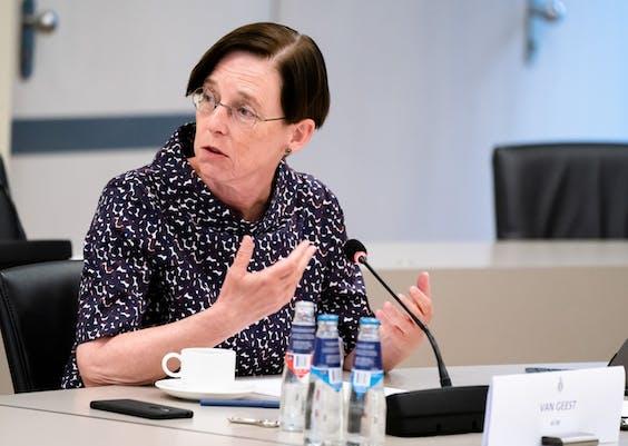 AFM-bestuursvoorzitter Laura van Geest
