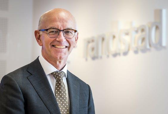 Jacques van den Broek, CEO van Randstad