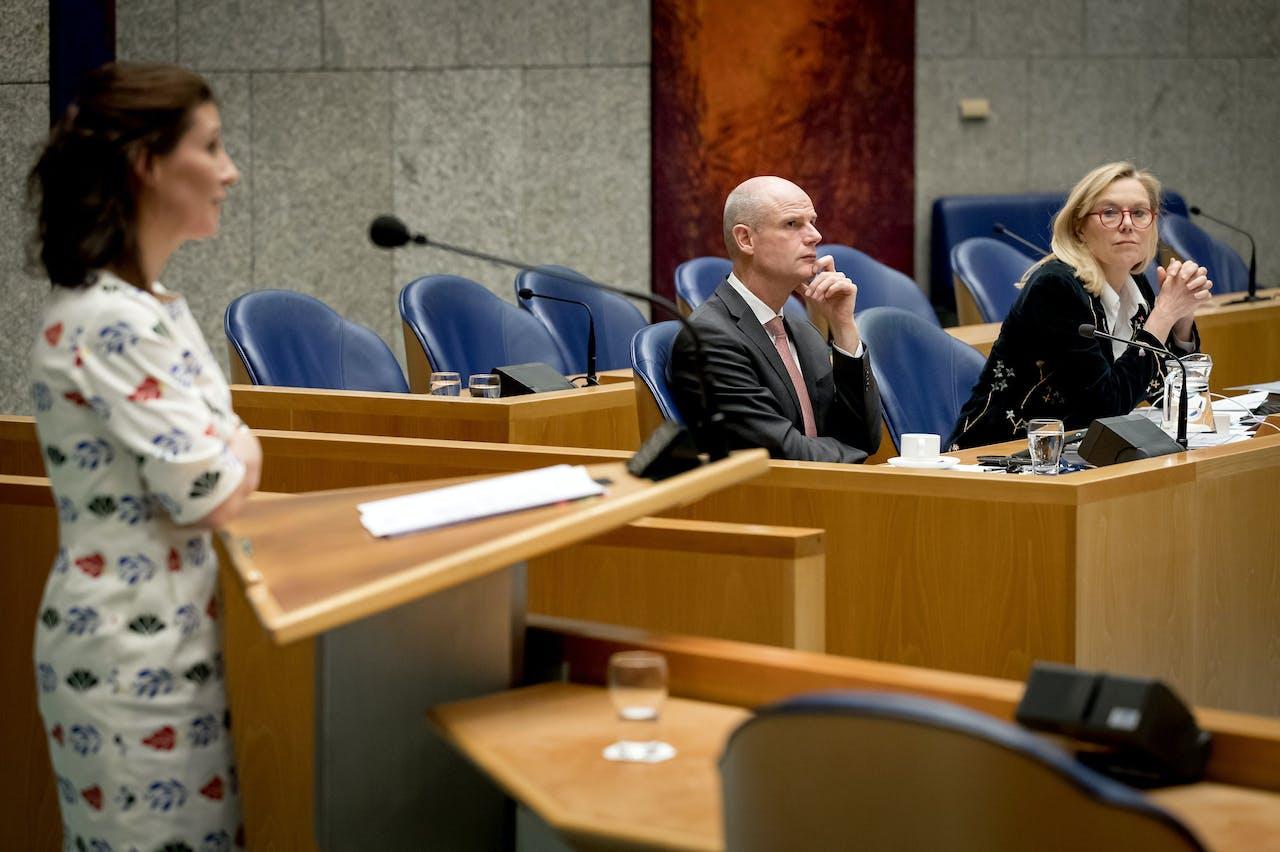 Stef Blok, minister van Buitenlandse Zaken, Sigrid Kaag, minister voor Buitenlandse Handel