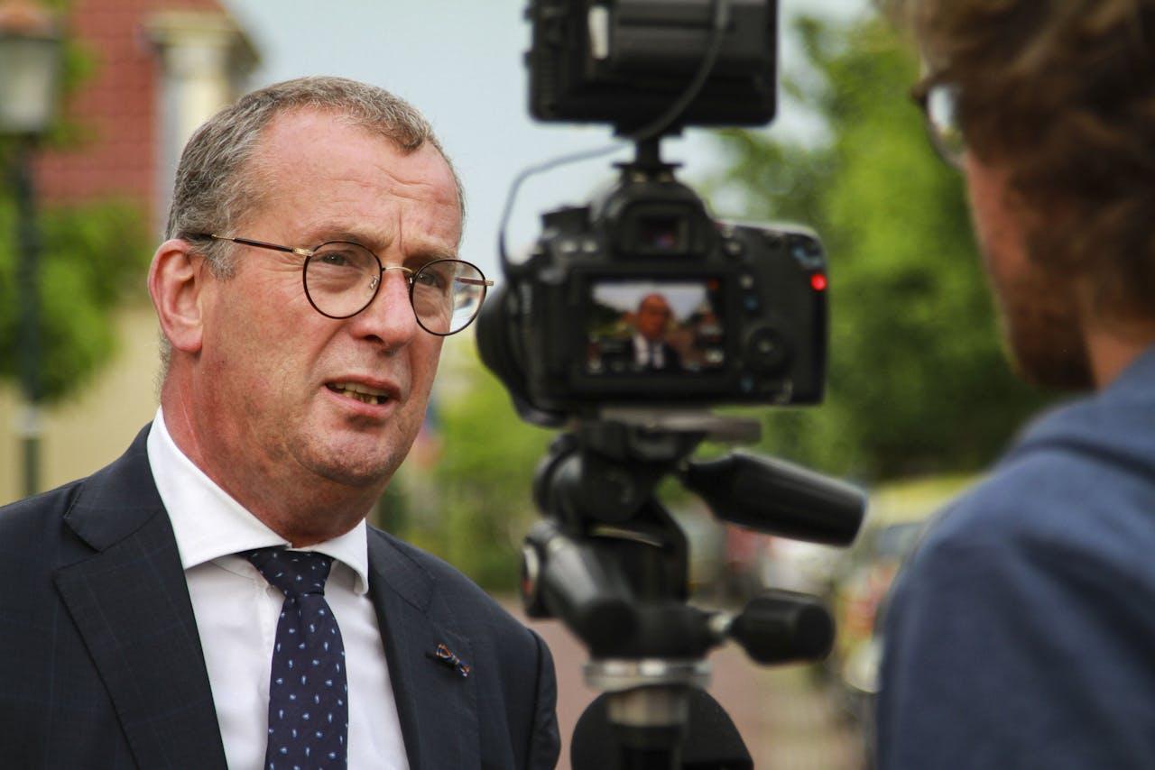 Hans Alders, oud-Nationaal Coördinator van Groningen.