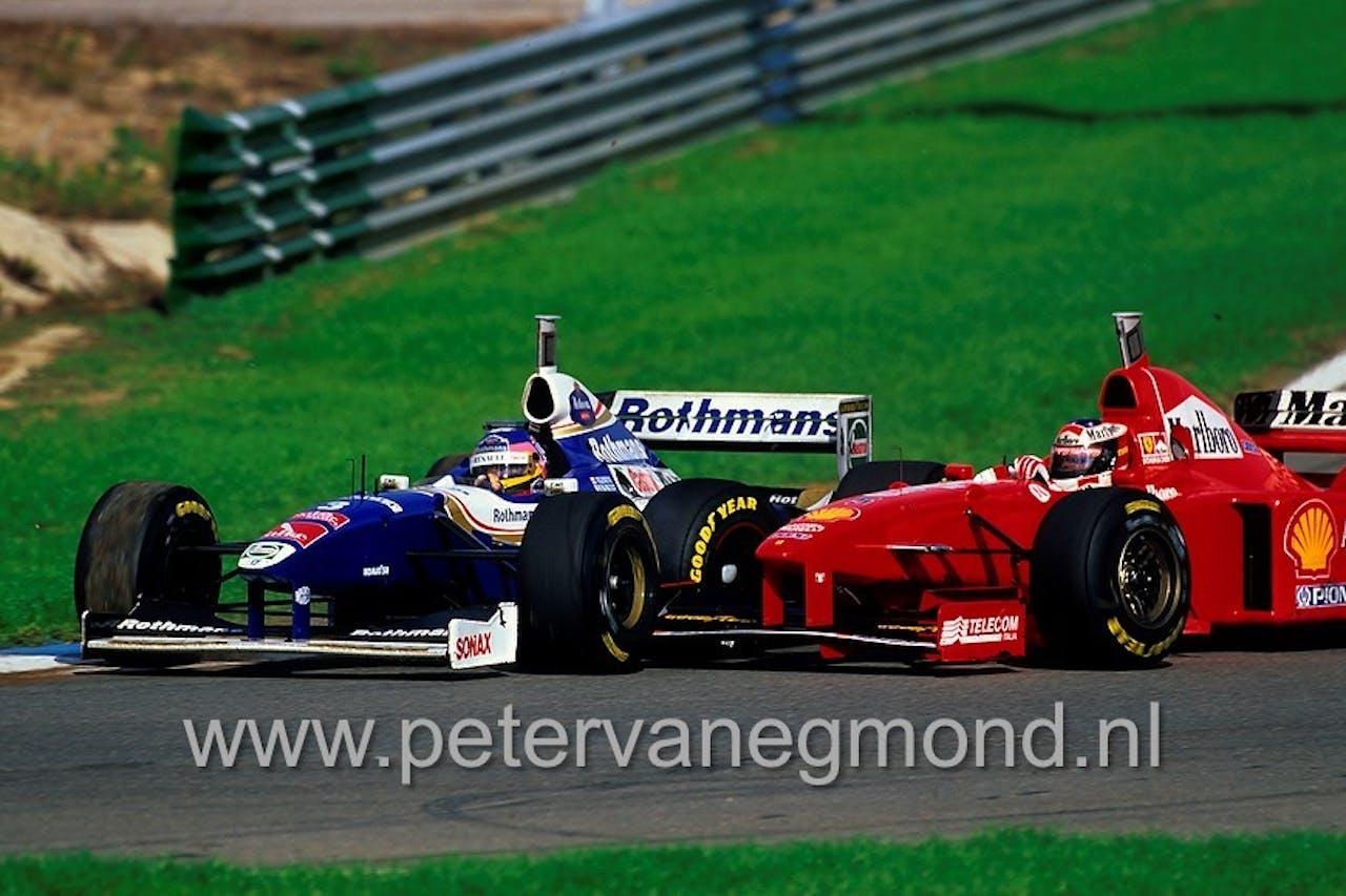 Gevecht om de wereldtitel: Jacques Villeneuve en Michael Schumacher (Jerez, 1997)