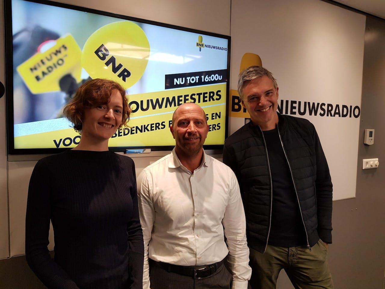 V.l.n.r.: Josien Kruizinga, Pierre Hobbelen, Paul Laseur.