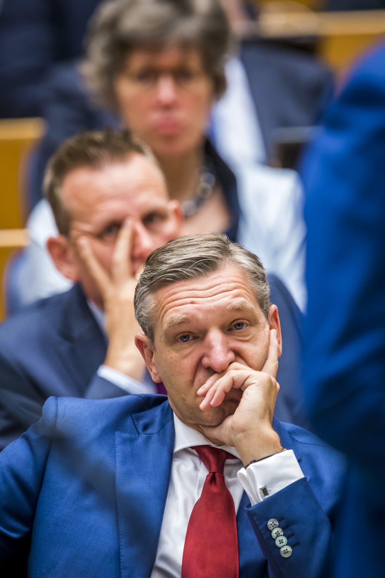 CDA-leider Sybrand van Haersma Buma
