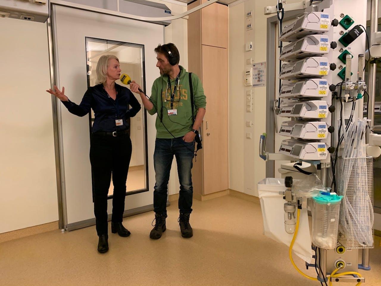 Medisch microbioloog en hoofd infectiepreventie Karin Ellen Veldkamp van het LUMC