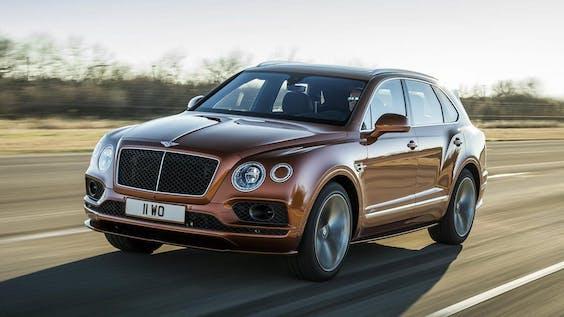De Bentley Bentayga Speed