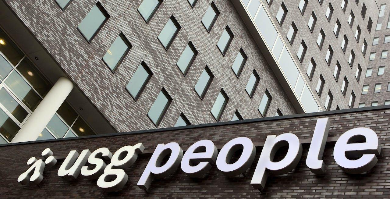 Hoofdkantoor en logo van USG People