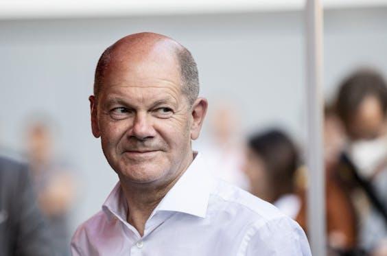 Olaf Scholz, SPD-lijsttrekker, huidig vice-kanselier en minister van Financiën