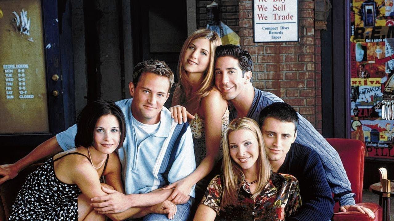 De cast van 'Friends'