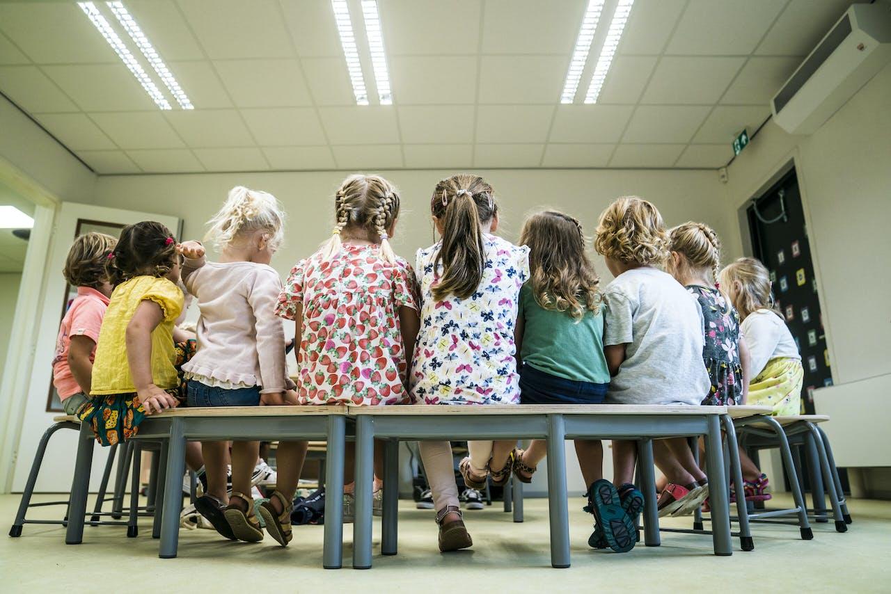 Leerlingen van een basisschool