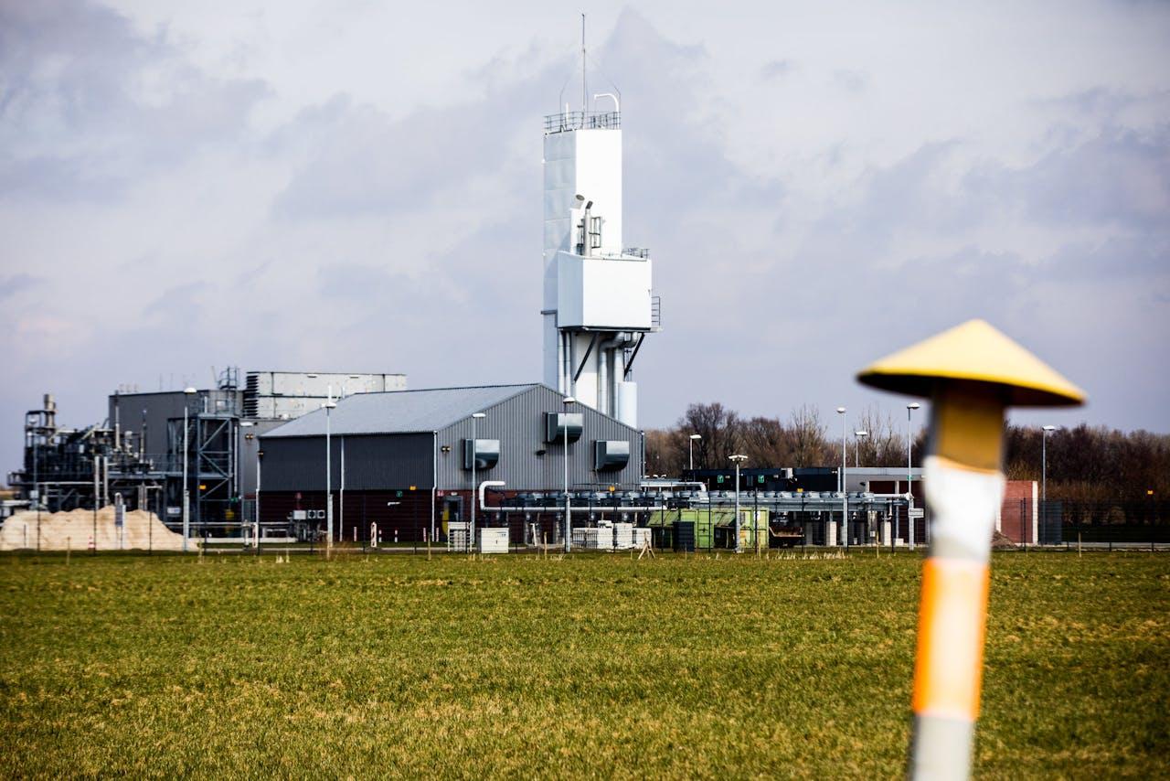 Stikstofinstallatie Zuidbroek van de Gasunie
