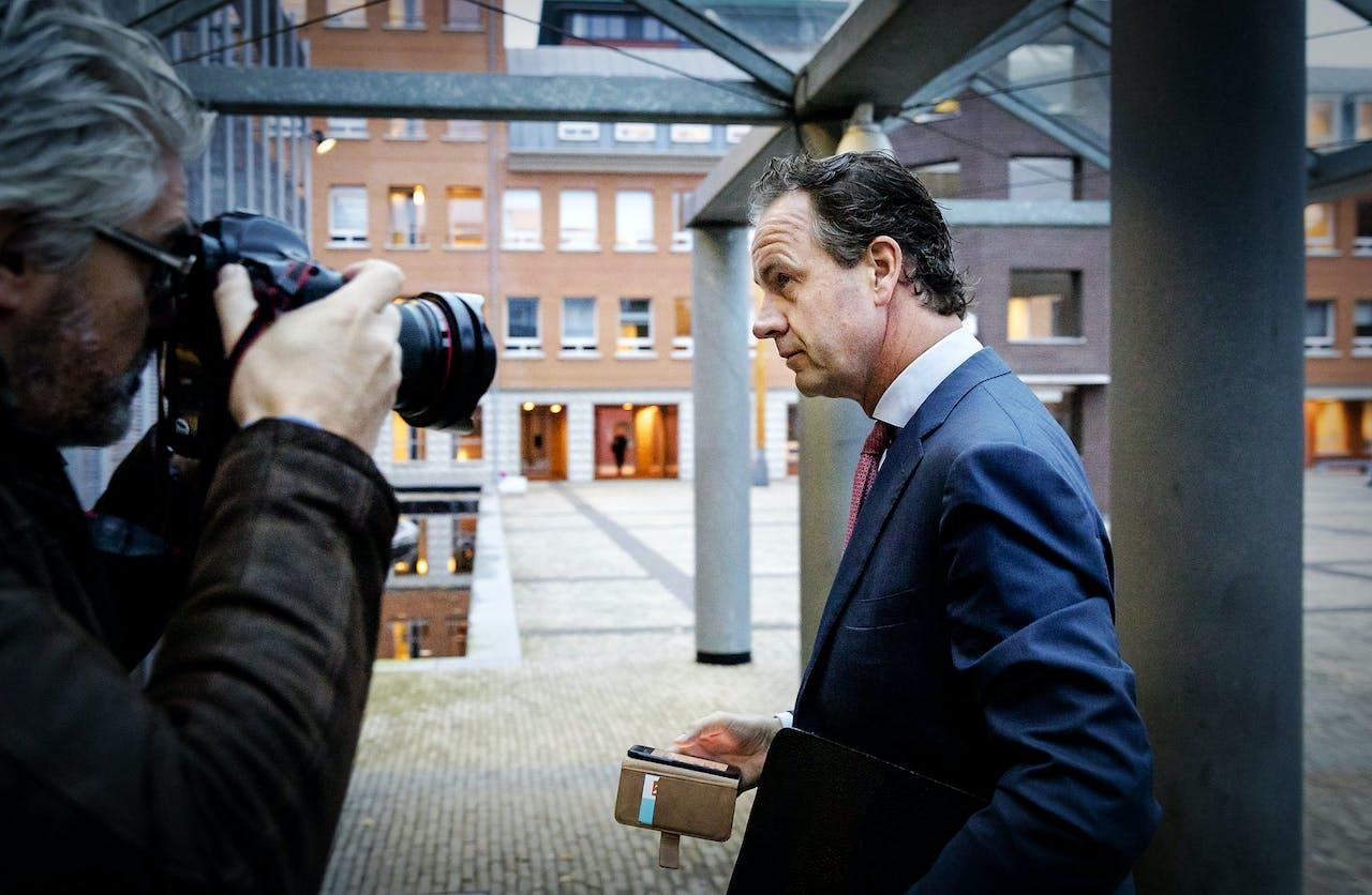 Timo Huges, voormalig president-directeur van de Nederlandse Spoorwegen