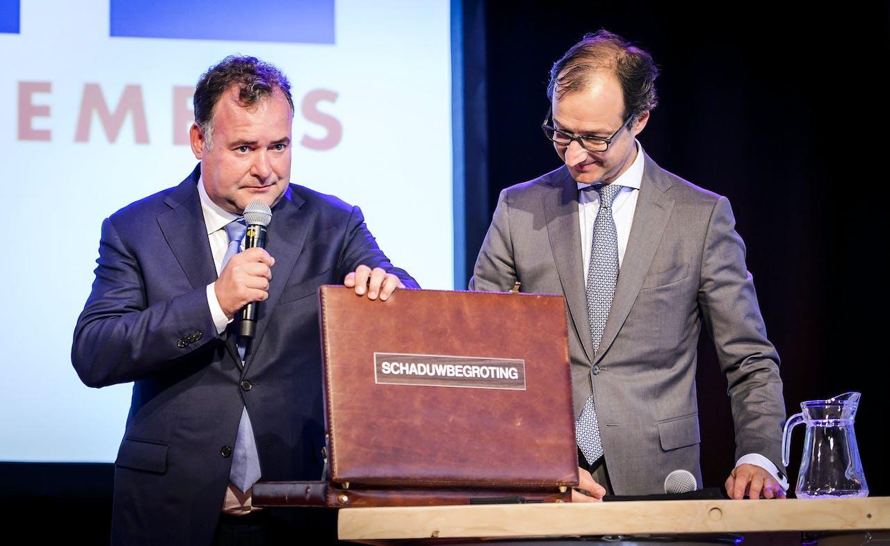 Hans Biesheuvel en Eric Wiebes