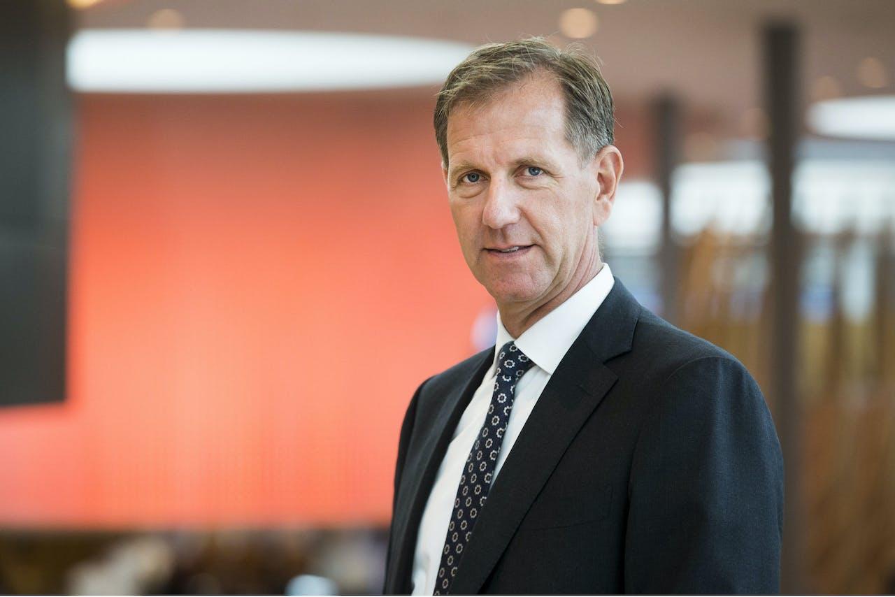 Rabobank-topman Wiebe Draijer. 2017. ANP VINCENT JANNINK