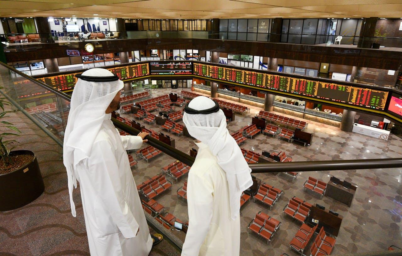 De beurs van Koeweit
