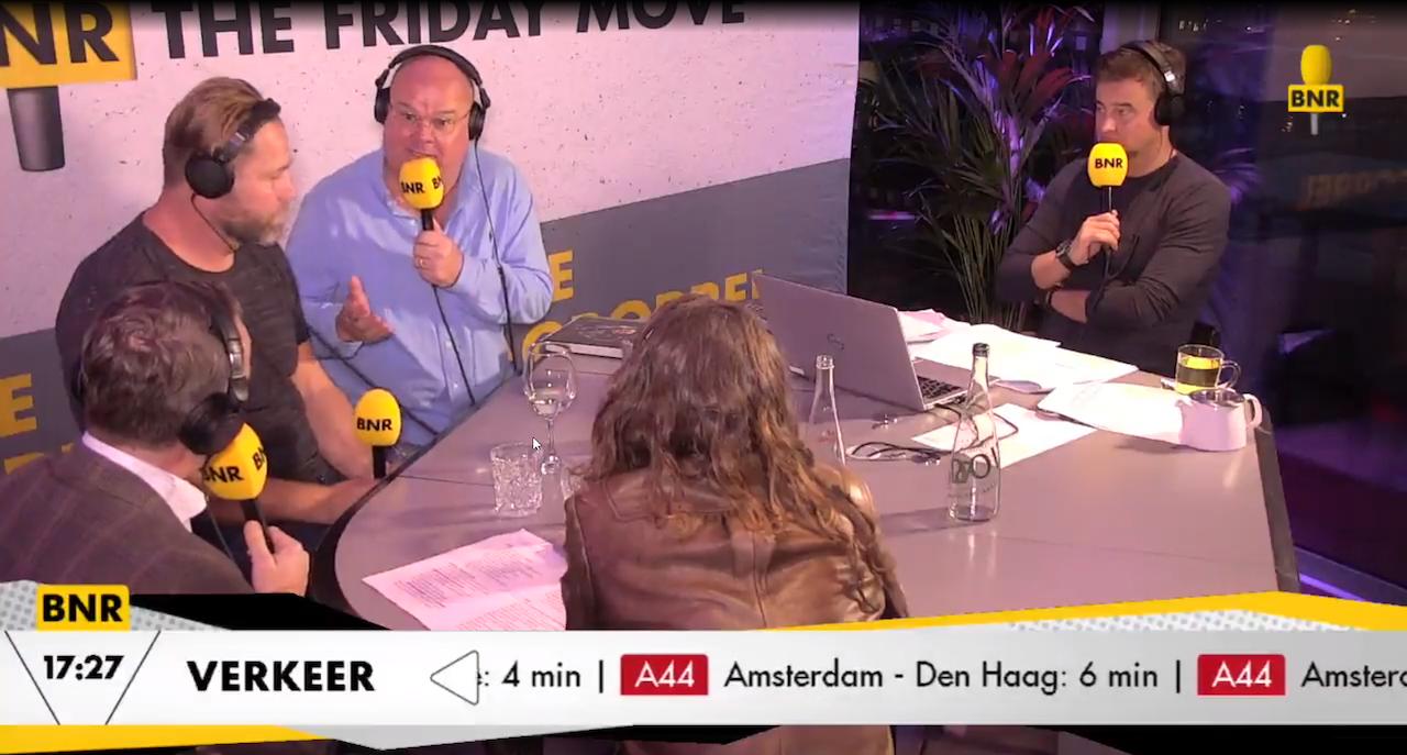 Wybren van Haga was vrijdag te gast in BNR The Friday Move om te praten over zijn verdere carrière in de Tweede Kamer als zelfstandig Kamerlid. De VVD zette hem eind september uit de partij.