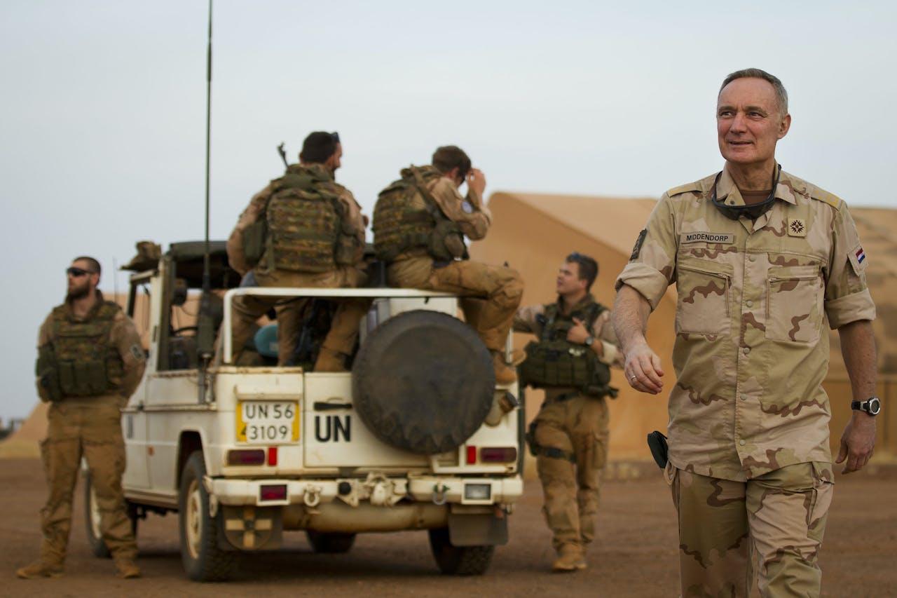 Nederlandse militairen in Mali.