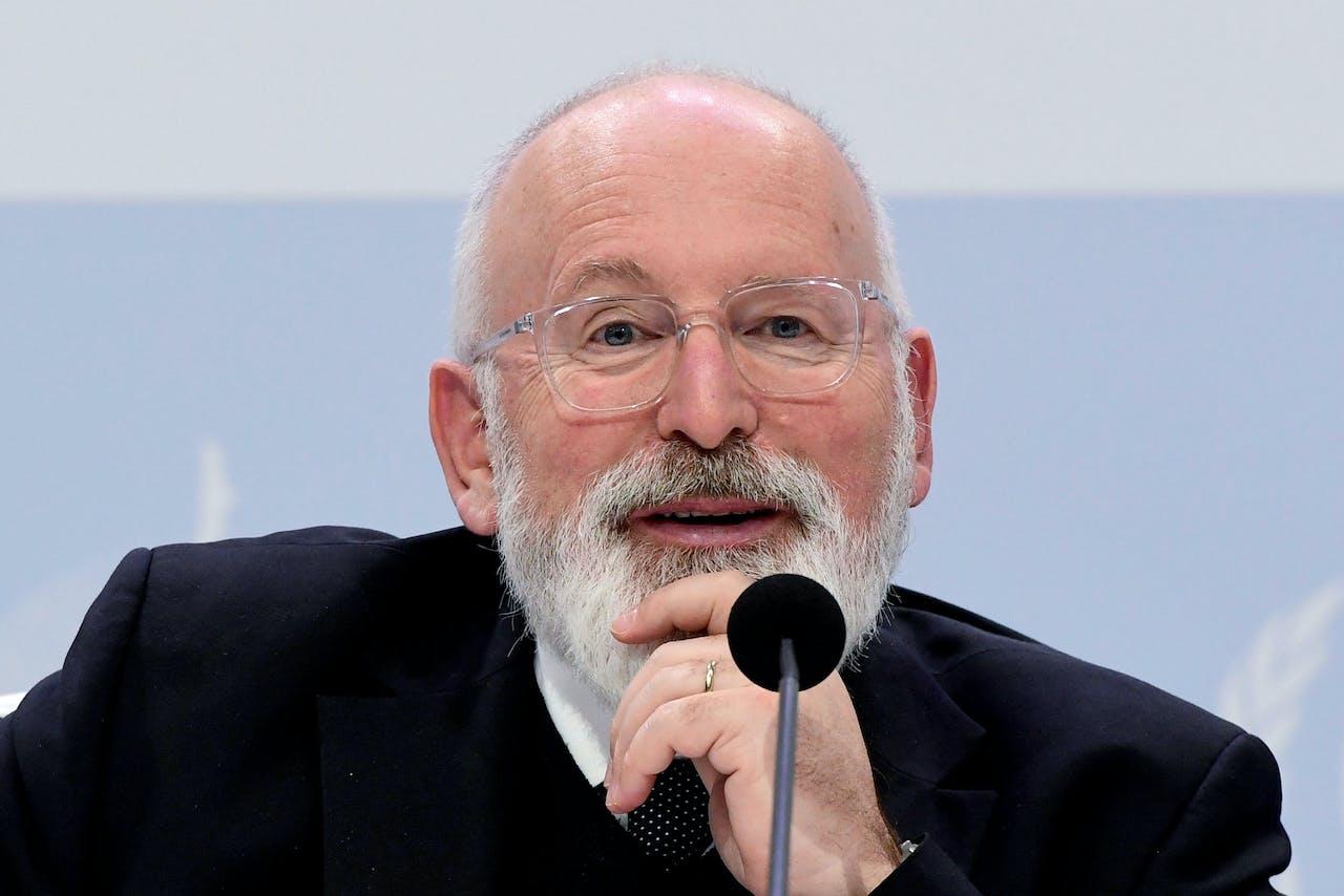Eurocommissaris Frans Timmermans