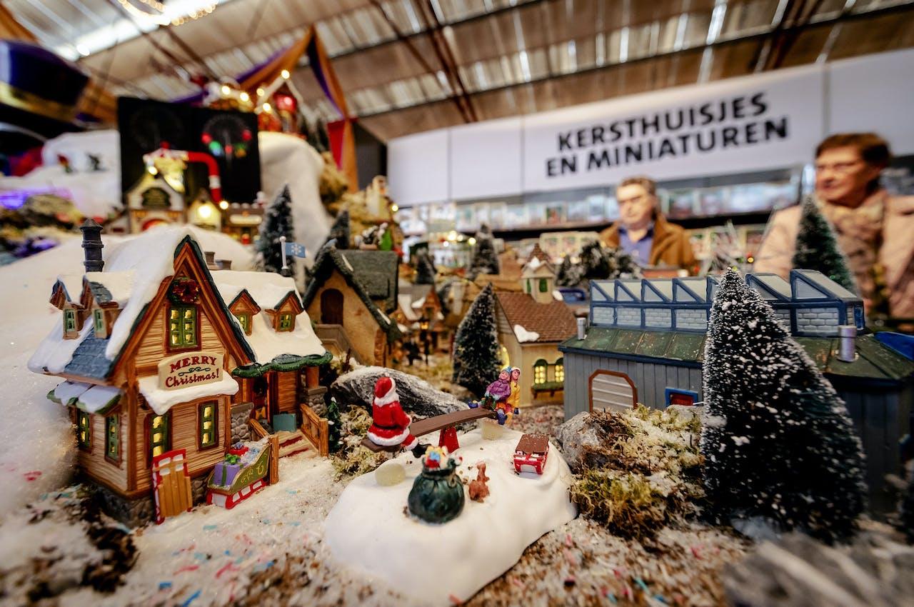 De kerstshow in tuincentrum Intratuin