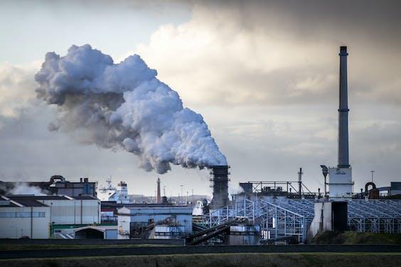 Exterieur van Tata Steel, Ijmuiden
