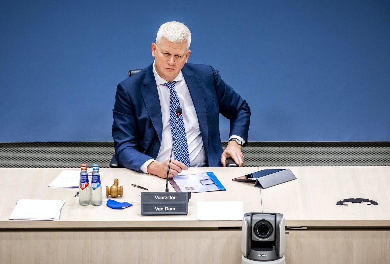 Chris van Dam, voorzitter van de commissie die onderzoek doet naar problemen rond de fraudeaanpak bij de kinderopvangtoeslag.