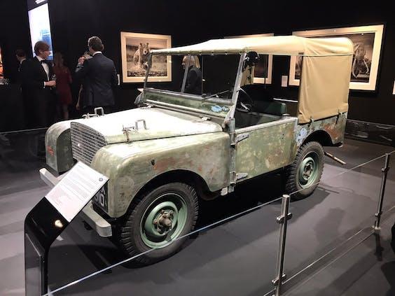 De pre-productie Land Rover Defender uit 1948