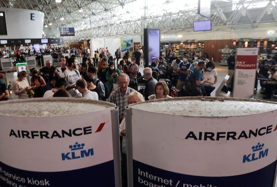 Passagiers van Air France-KLM