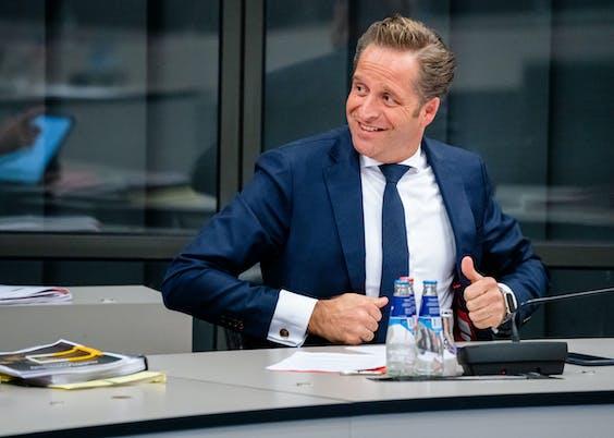Minister en CDA-lijsttrekker Hugo de Jonge van Volksgezondheid
