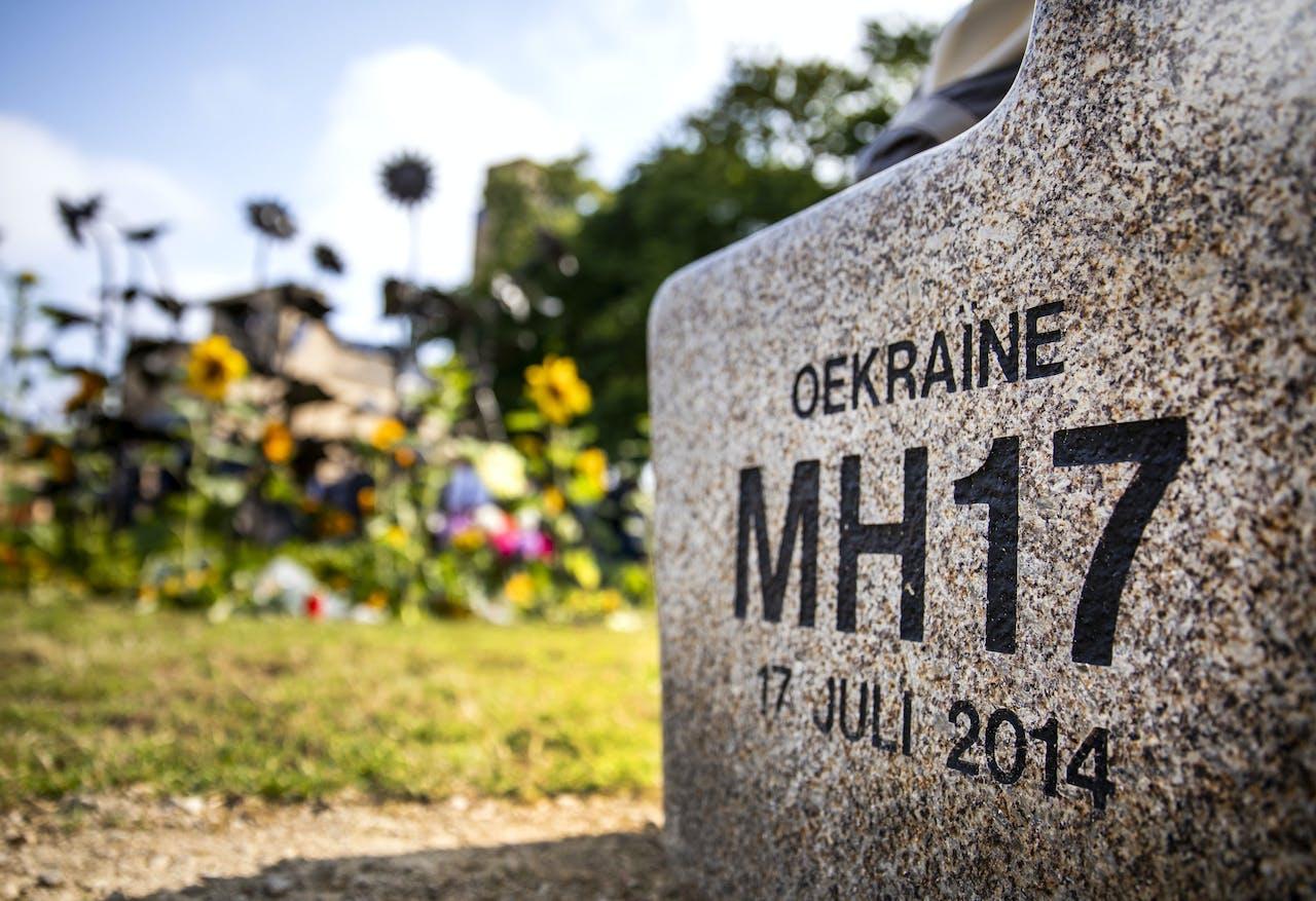 HILVERSUM - Het MH17-monument. ANP REMKO DE WAAL