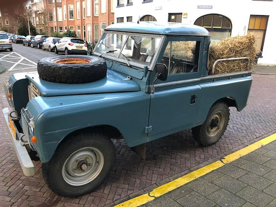 Land Rover Series 3, 88, single cab