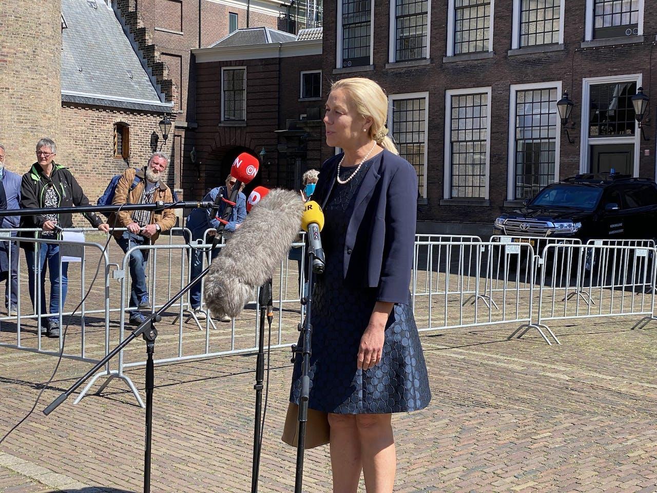 D66-leider Sigrid Kaag