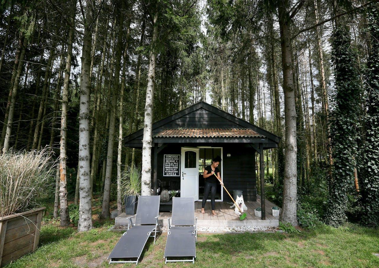 Een luxe vakantiehuis bij Luxe Huisjes in het Drentse Erica.