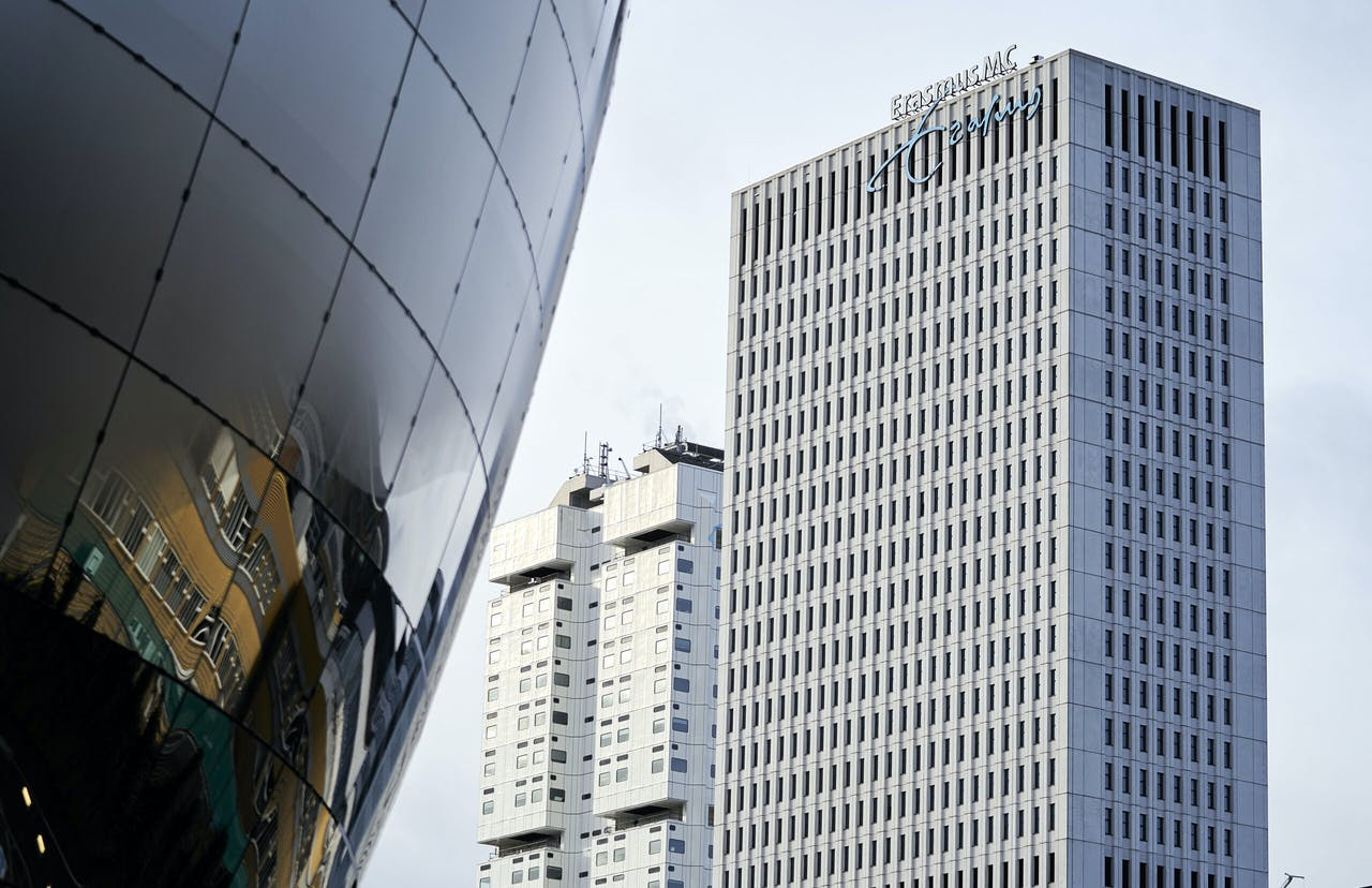 Het Erasmus MC in Rotterdam.