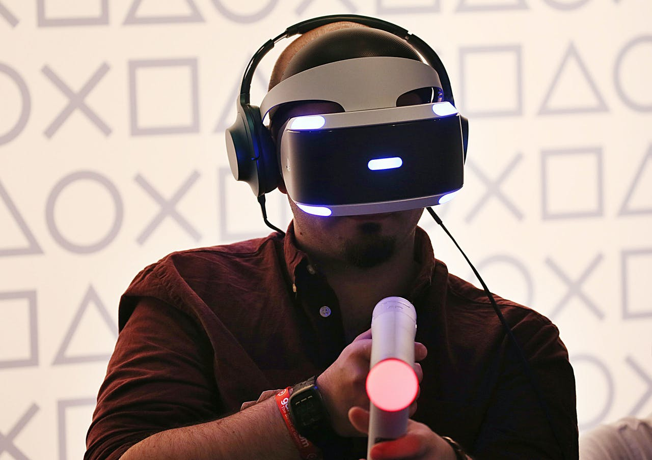 Met Steam kunnen ook virtual reality-spellen gespeeld worden.