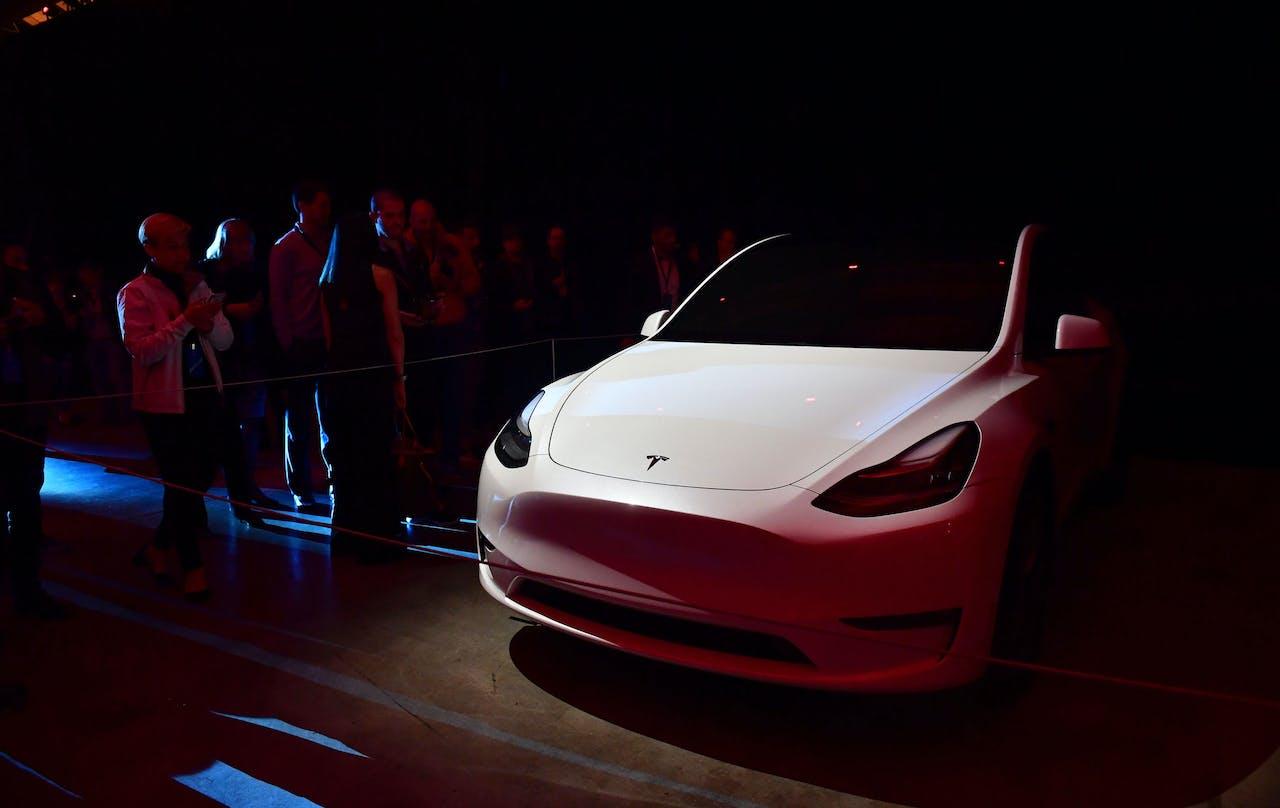 De Tesla Model Y.