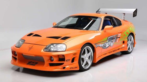 Deze Toyota Supra uit 1994 was te zien in twee Fast & Furious-films