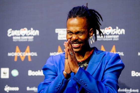 Jeangu Macrooy vertegenwoordigt ook dit jaar Nederland op het Eurovisie Songfestival.