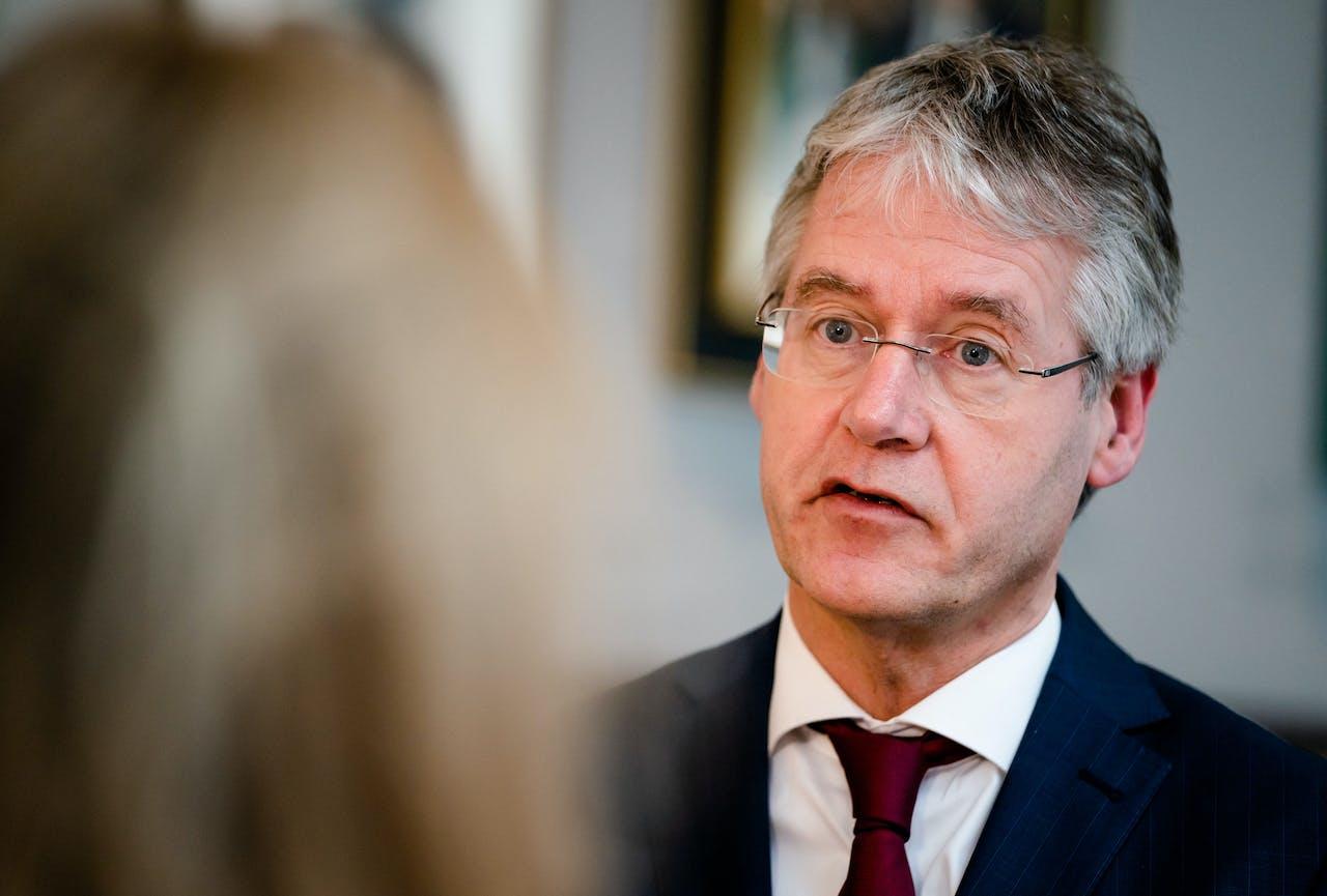 Minister Arie Slob (Basis- en Voortgezet Onderwijs en Media)