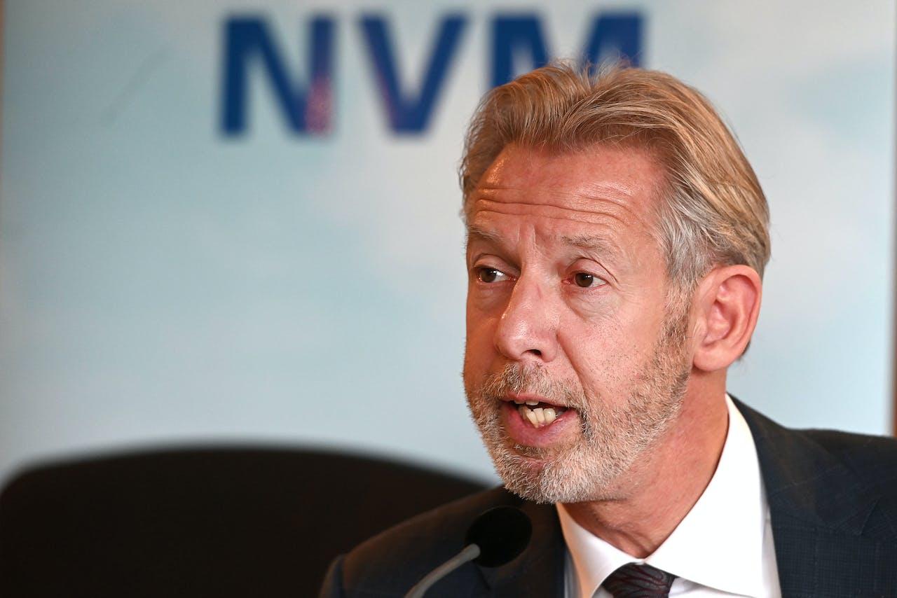 Onno Hoes, voorzitter van de Nederlandse Vereniging van Makelaars