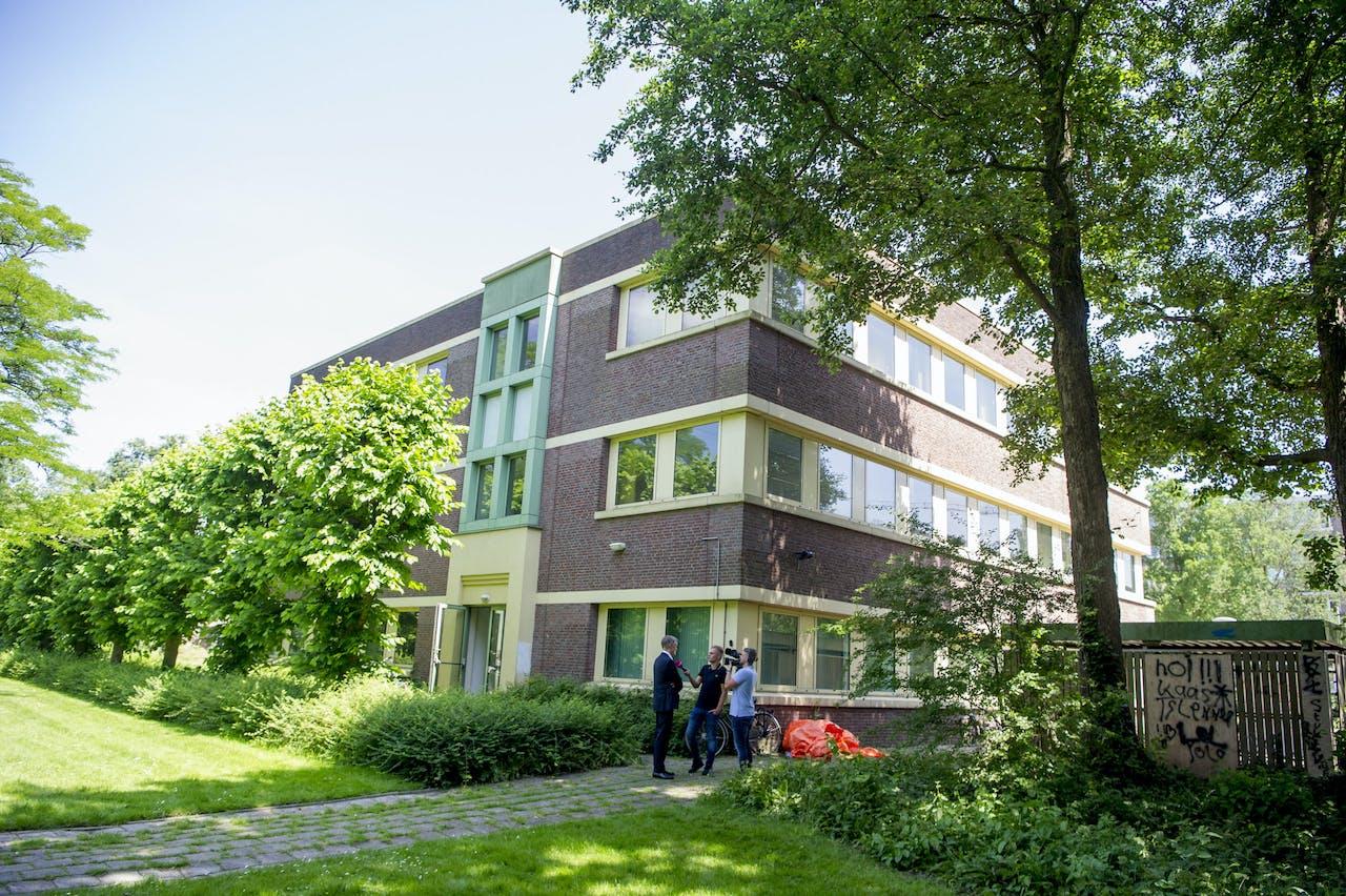 Een leegstaand pand in Amstelveen.