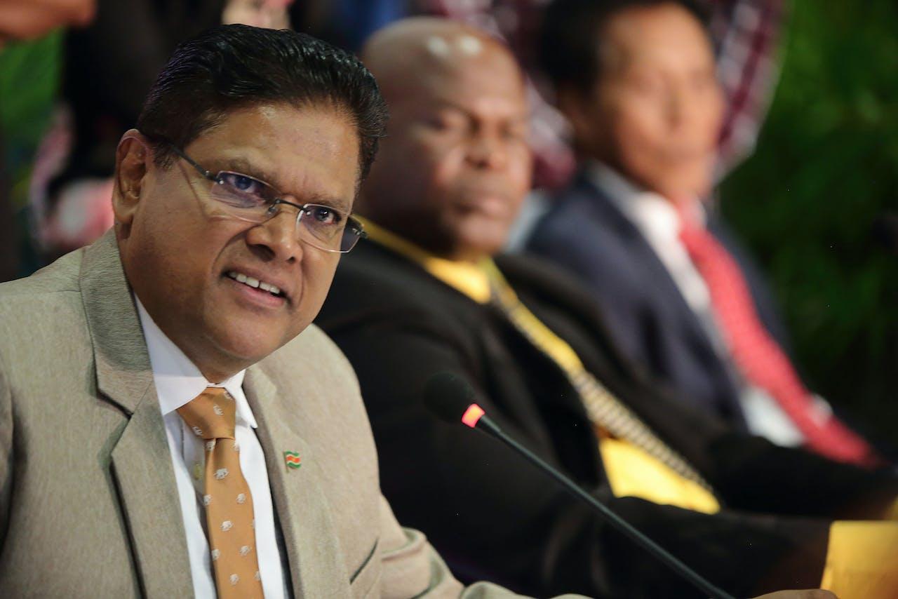 Beoogd president Chan Santokhi van Suriname