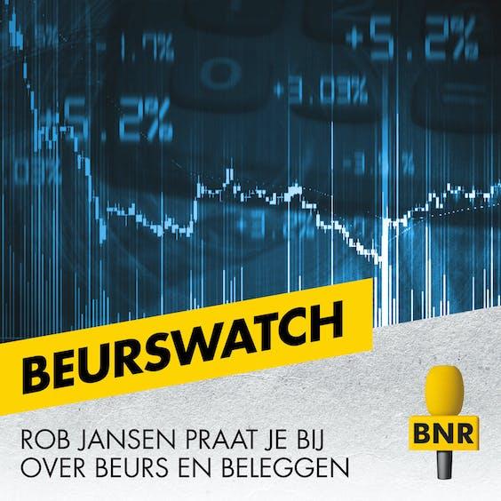 BNR radio vormgeving voor de losse programma's beurswatch