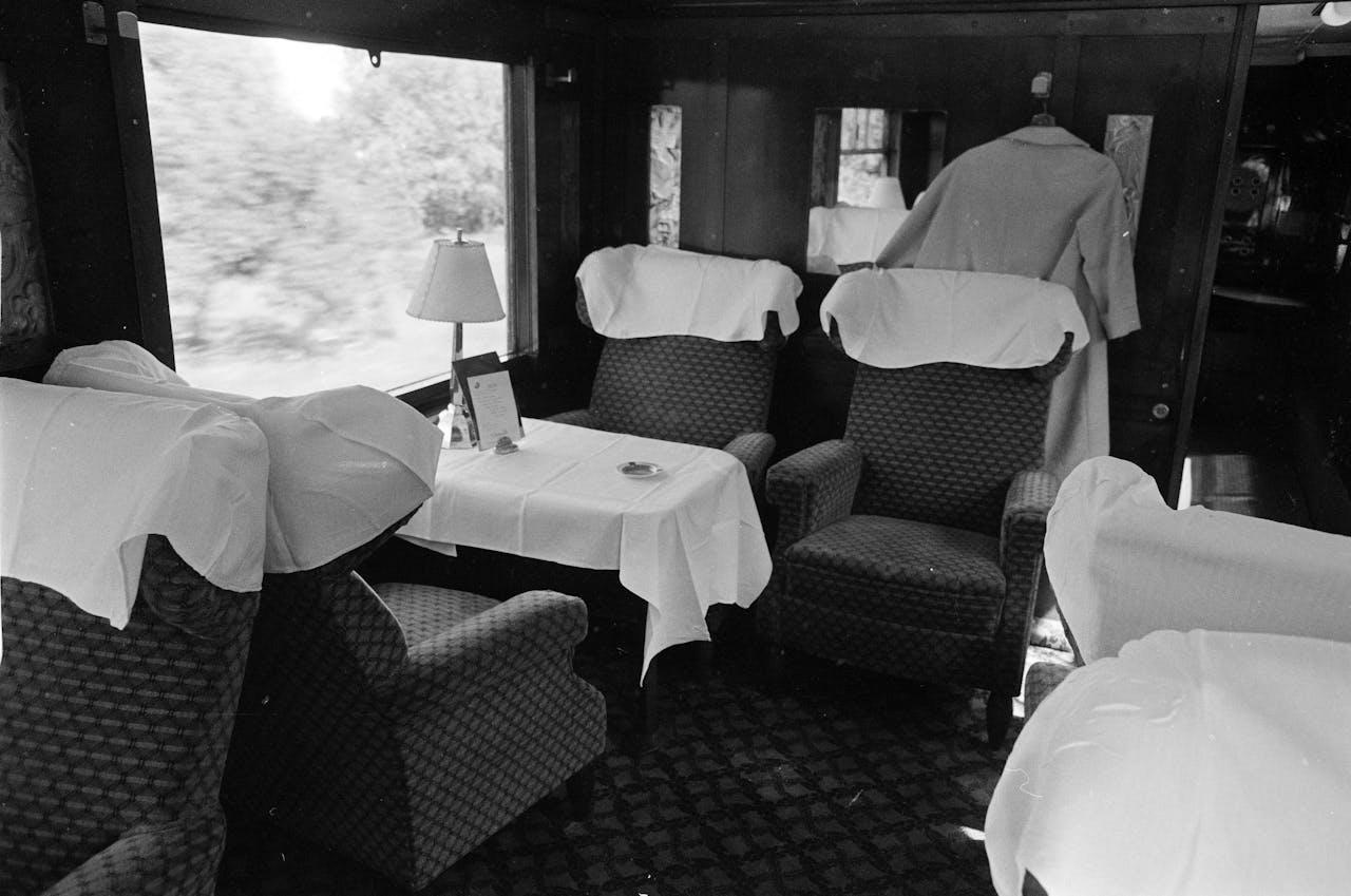 Al in de jaren '60 werd geprobeerd met internationale treinen de concurrentiestrijd aan te gaan met het vliegtuig.