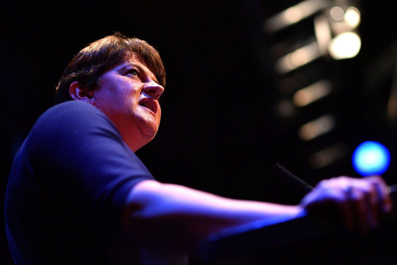 Arlene Foster van de Noord-Ierse Democratic Unionist Party (DUP)