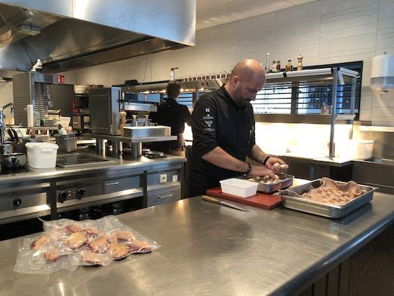 Chef Servais Tielman van Beluga