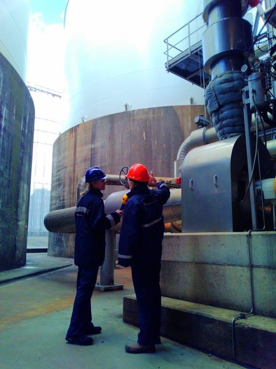 Karlijn Meinders bij Alco Energy Rotterdam