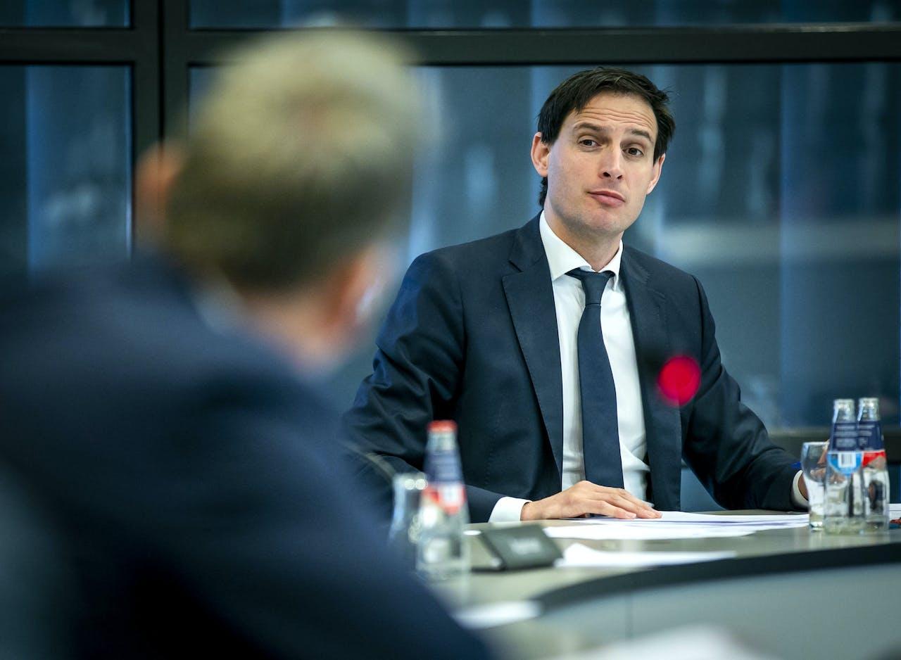 Minister Wopke Hoekstra van Financien.
