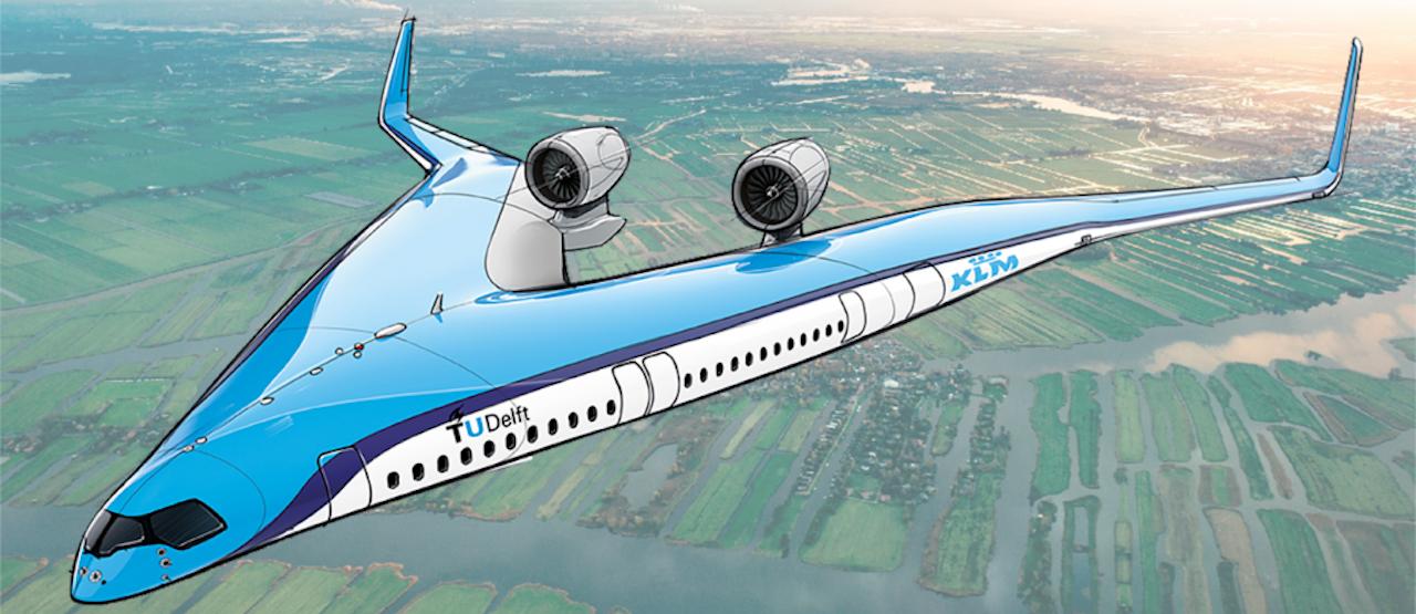 The Flying V van de TUdelft