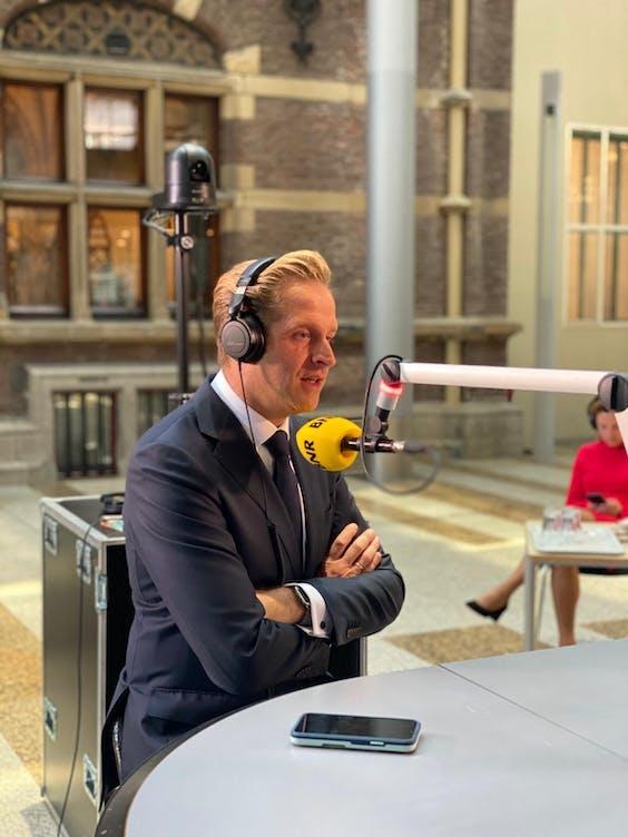 Minister Hugo de Jonge in de Prinsjesdag-uitzending van Spitsuur