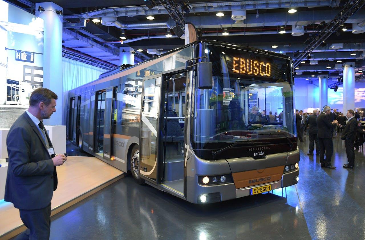 Een Ebusco-bus in 2016.